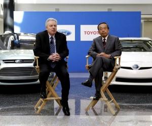 nueva alianza de Ford y Toyota