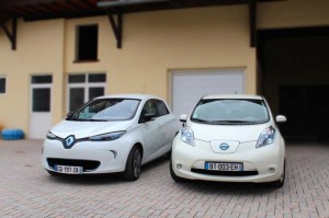 nissan y renault venden mas de 100.000 coches electricos