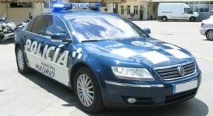 nuevo coche de la policia local de madrid