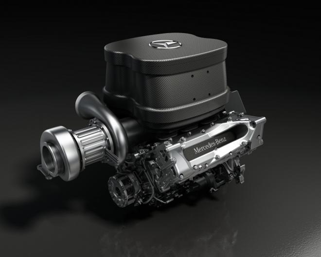 nuevo motor de mercedes para el campeonato proximo de formula 1