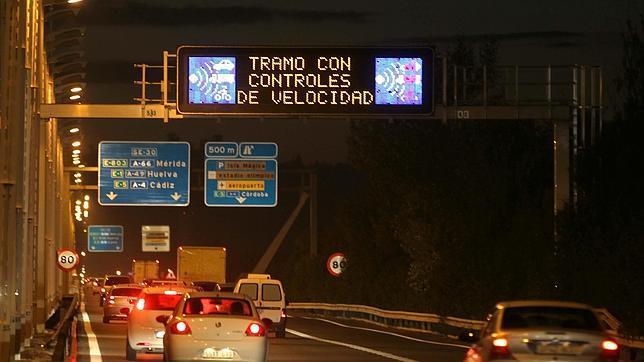 bulo de controles de tráfico en Sevilla
