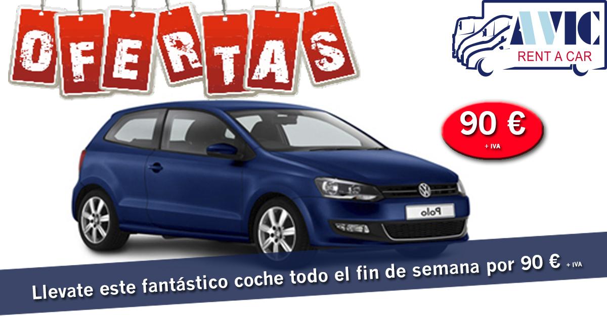 Alquiler de coche en Sevilla fin de semana